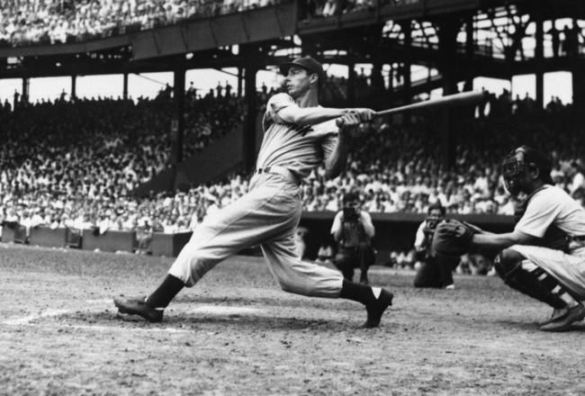 Joe DiMaggio. The Swing