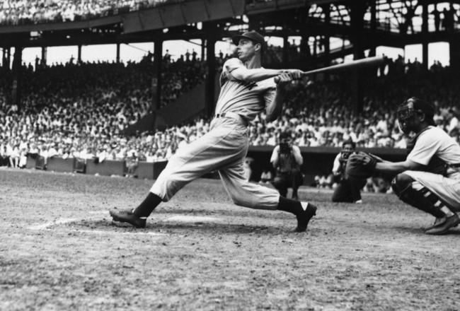 The Iconic Joe DiMaggio Swing, June 29, 1941, Washington D.C.