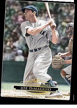 Joe DiMaggio Topps Card